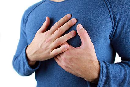 Coronavirus, Herzschmerzen, Herzstolpern